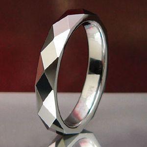 メール便なら送料無料  タングステンリング メンズ レディース リング・指輪 wr0006|2pcs
