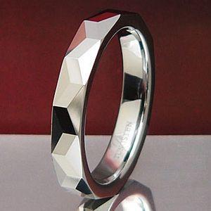 メール便なら送料無料  タングステンリング メンズ レディース リング・指輪 wr0008|2pcs