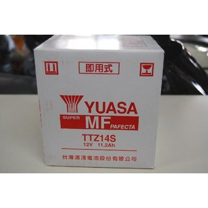 新品バッテリー TTZ14S(YTZ14S互換)(輸入品・台湾ユアサ) 未充電|2rinkan