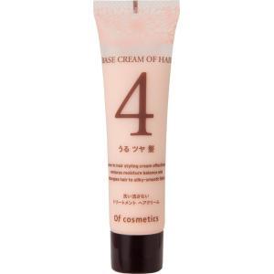 オブ・コスメティックス ベースクリームオブヘア・4 ミニサイズ(ローズブーケの香り)35gの商品画像|ナビ