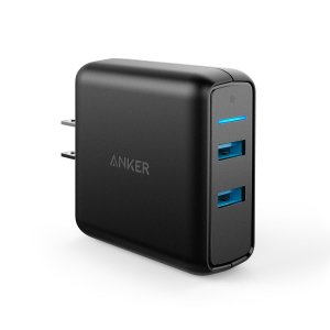 Anker PowerPort Speed 2 (QC3.0搭載2ポート 39.5W USB急速充電...