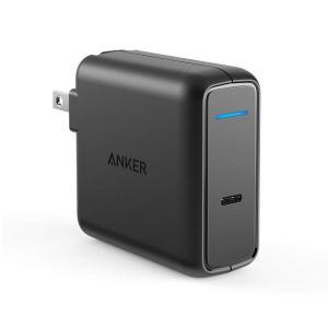 Anker PowerPort Speed 1 PD 60 (60W USB-C 急速充電器)【PS...