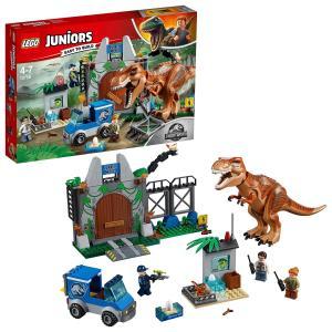 レゴ(LEGO)ジュニア T-レックスの脱走 10758 3-dia