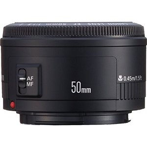 Canon 単焦点レンズ EF50mm F1.8 II フルサイズ対応  【メーカー名】 キヤノン ...