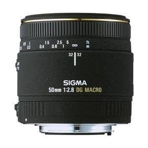 SIGMA 単焦点マクロレンズ MACRO 50mm F2.8 EX DG ニコン用 フルサイズ対応...