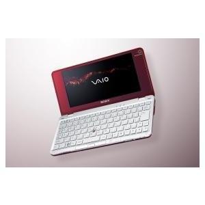 ソニー(VAIO) VAIO typeP P70H VistaHomeBasic ワンセグ ガーネットレッド|3-sense