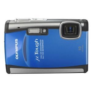 OLYMPUS 防水デジタルカメラ μTOUGH-6000 ブルー μTOUGH-6000BLU  ...