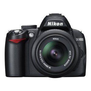 Nikon デジタル一眼レフカメラ D3000 レンズキット D3000LK 3-sense