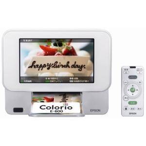 EPSON Colorio me コンパクトプリンター E-600 7.0型TFTカラー液晶 デジタ|3-sense