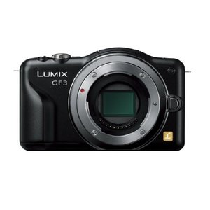 Panasonic ミラーレス一眼カメラ LUMIX GF3 ボディ エスプリブラック DMC-GF...