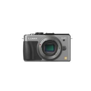 Panasonic ミラーレス一眼カメラ ルミックス GX1 ボディ 1600万画素 シルバ