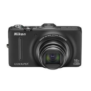 Nikon デジタルカメラ COOLPIX (クールピクス) S9300 ノーブルブラック S93 3-sense