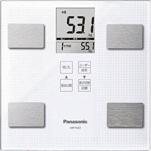 パナソニック 体重・体組成計   ホワイト EW-FA23-W  【メーカー名】 パナソニック(Pa...