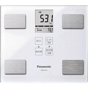 パナソニック 体重・体組成計   ホワイト EW-FA13-W  【メーカー名】 パナソニック(Pa...