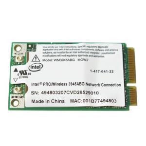 Intel PRO wireless 3945ABG 802.11a/b/g PCI-E Mini (WM3945ABG) 3-sense