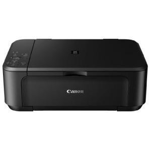 Canon インクジェットプリンター複合機 PIXUS MG3530 BK ブラック|3-sense