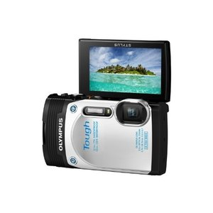 OLYMPUS デジタルカメラ STYLUS TG-850 Tough ホワイト 防水性能10m 可...
