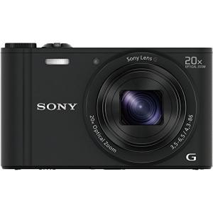 ソニー SONY デジタルカメラ Cyber-shot WX350 光学20倍 ブラック DSC-W...