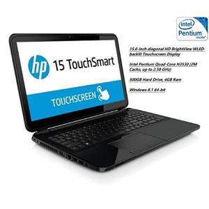 HP 15-r063nr 15.6 Touchscreen Laptop / Intel Pentium N3530 2.16 GHz / 3-sense