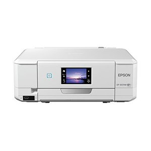 EPSON プリンター インクジェット複合機 Colorio EP-807AW 無線 有線 スマ|3-sense