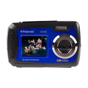 Polaroid IE090-BLU Waterproof Digital Camera with ...