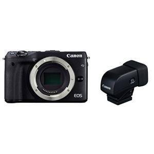Canon ミラーレス一眼カメラ EOS M3 ボディ(ブラック) EVFキット EOSM3BK-B...