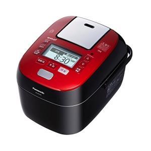 パナソニック 5.5合 炊飯器 圧力IH式 Wおどり炊き ルージュブラック SR-SPX105-RK...