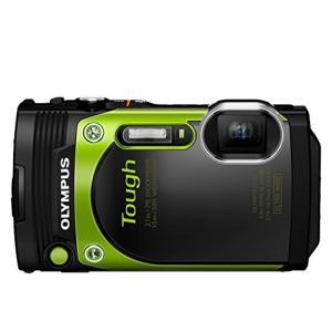 OLYMPUS コンパクトデジタルカメラ STYLUS TG-870 Tough グリーン 防水性能...