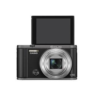 CASIO デジタルカメラ EXILIM EX-ZR3100BK 自分撮りチルト液晶 スマホへ自