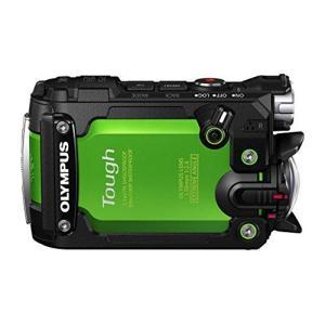 OLYMPUS アクションカメラ STYLUS TG-Tracker グリーン 防水性能30m 耐衝撃 3-sense