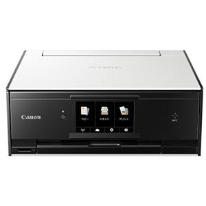 Canon インクジェットプリンター複合機 TS9030 WH ホワイト|3-sense