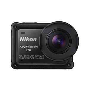 Nikon 防水アクションカメラ KeyMission 170 BK ブラック 3-sense