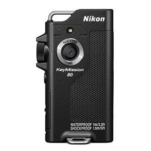 Nikon 防水ウェアラブルカメラ KeyMission 80 BK ブラック 3-sense