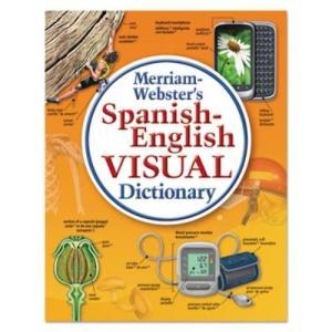 merriam-webster spanish-englishビジュアル辞書、ペーパーバック、115...