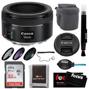 Canon EF 50?mm f / 1.8?STMレンズバンドル  【メーカー名】 Focus C...
