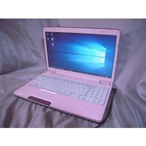 レア 本体色:ピンク Blu-ray ドライブ搭載 Windows10 光沢16型ワイド液|3-sense
