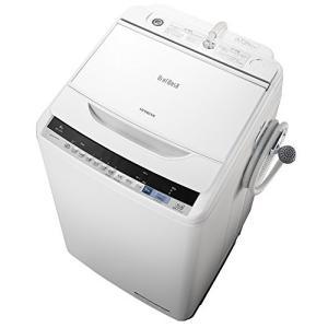 日立 全自動洗濯機 ビートウォッシュ 8kg ホワイト BW-V80B W 3-sense