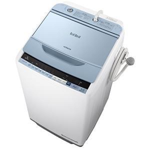 日立 全自動洗濯機 ビートウォッシュ 7kg ブルー BW-V70B A 3-sense
