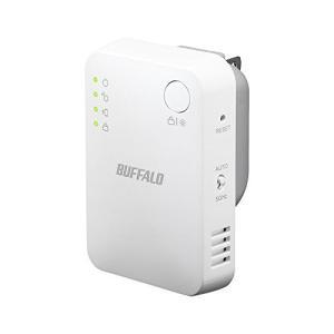 BUFFALO WiFi 無線LAN中継機 WEX-1166DHPS 11ac/n/a/g/b 866+300Mbps ハイ|3-sense
