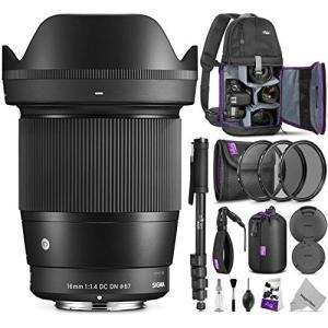 Sigma 16?mm f1?. 4?DC DN Contemporaryレンズfor Sony E...