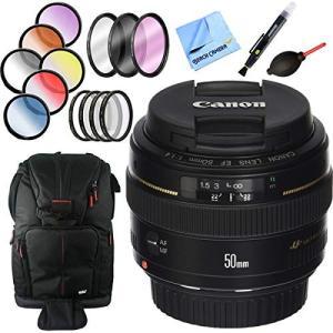 Canon EF 50?mm f / 1.4?USM標準+中望遠レンズと58?mmフィルタセットプラ...