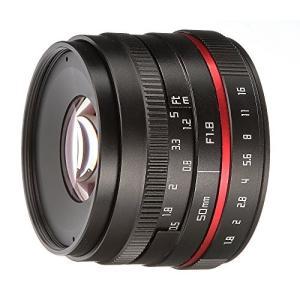 Fotga 50?mm f / 1.8マニュアルフォーカスMF Prime Lens for Fuj...