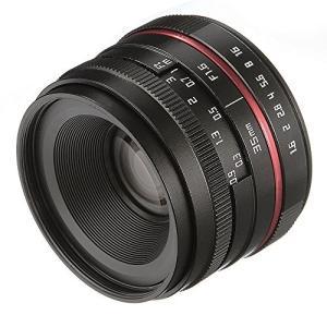 Fotga 36?mm F / 1.6マニュアルフォーカスMF Primeレンズfor Canon ...