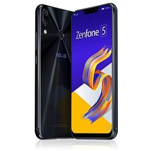 エイスース ASUS ZenFone 5 (ZE620KL) シャイニーブラック6.2インチ SIM...