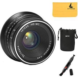 【正規品】カメラ/一眼レンズカメラ用 7artisans 25mm F1.8 単焦点レンズ マニュア...