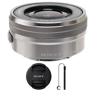 Sony selp1650?16???50?mm f/3.5???5.6?PZ OSSレンズシルバー...