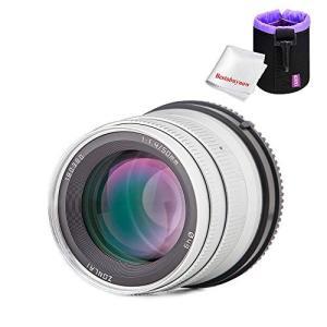 Zonlai 50mm f1.4 大口径ズームレンズ APS-C Fujifilm X-Mount ...