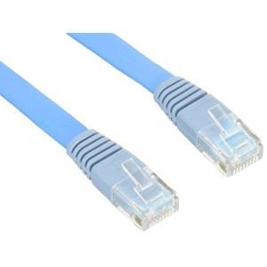(新品未使用)エレコム LANケーブル 50m スーパーフラット CAT5e準拠 ブルー LD-CTFS/BU5|3-sense