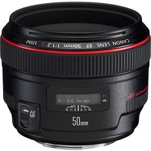(新品未使用) Canon 単焦点標準レンズ EF50mm F1.2L USM フルサイズ対応  【...