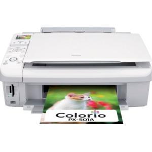 (新品未使用)EPSON MultiPhoto Colorio 普通紙くっきり フォト複合機 4色顔料インク PX-|3-sense